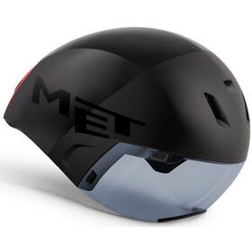 MET Codatronca Kask rowerowy, black
